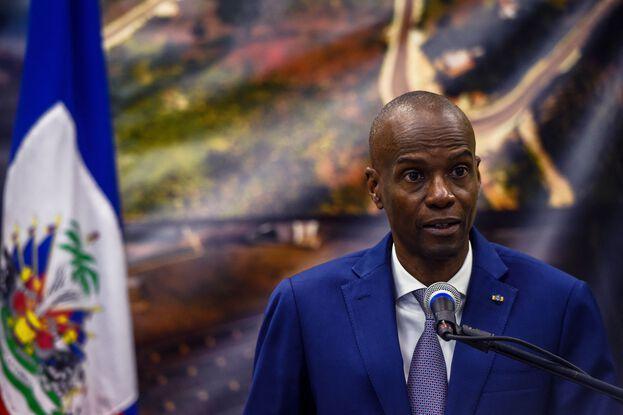 648x415 le president d haiti jovenel moise lors d une conference de presse le 7 janvier 2020 illustration