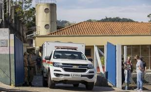 Un homme âgé de 18 ans a tué trois enfants et deux employés d'une crèche à Saudades, au Brésil, mardi 4 mai 2021.