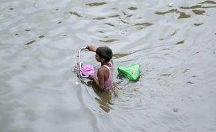 La mousson en Asie du sud-est, août 2007.