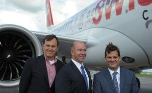 Trois des six hauts dirigeants de Bombardier