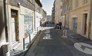 Les affrontements ont eu lieu rue Navarin à Marseille.