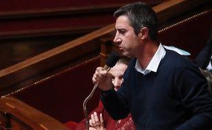 François Ruffin à l'Assemblée nationale, le 11 octobre 2017.
