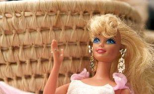 Une poupée Barbie commercialisée par Mattel.