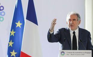 François Bayrou, à Pau, le 14 janvier 2020.