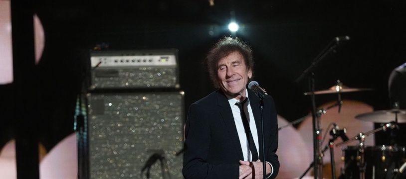 Alain Souchon, lors des 35eme Victoires de la Musique, le 14 février 2020.