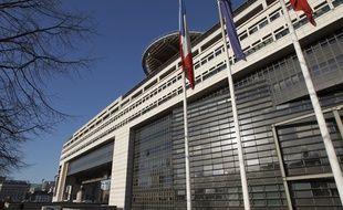 Paris le 28 janvier 2013, la façade du ministère des finances. B