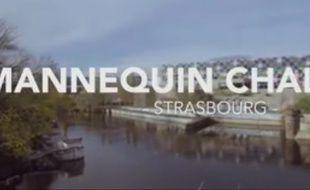 Dimanche, des Strasbourgeois se sont figés le temps de participer à la tendance du moment, le #MannequinChallenge