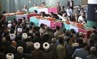 Les obsèques à Téhéran de pèlerins iraniens tués lors de la bousculade de La Mecque.
