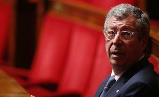 Le député Les Republicains Patrick Balkany à l'Assemblée nationale, le 25 mai 2016