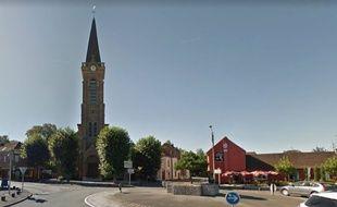 L'église de Phalempin.
