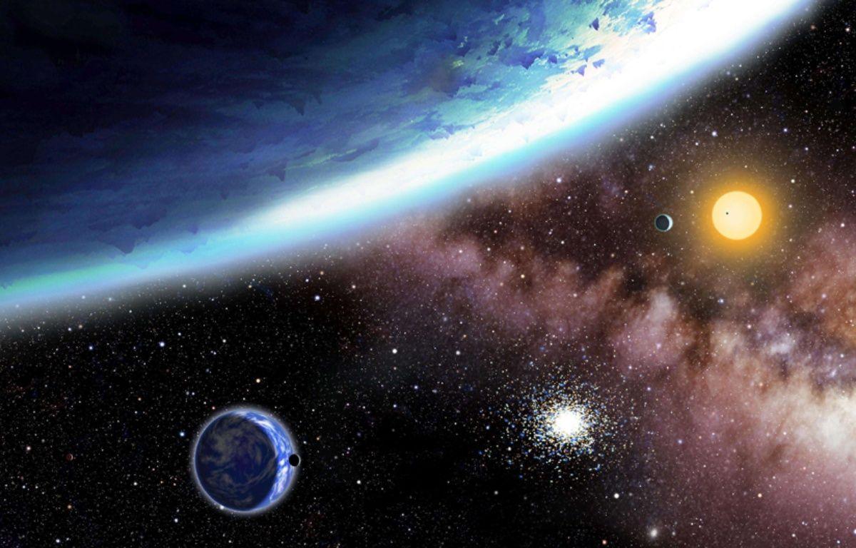 Vue d'artiste de planètes extra-terrestres. – Ap / Sipa