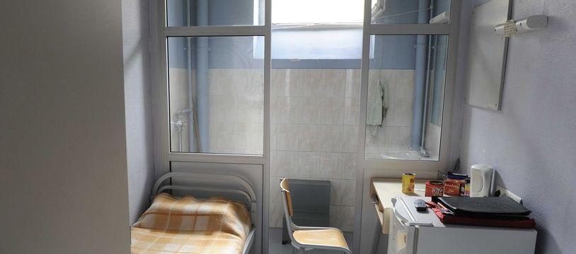 Une cellule de la prison de Metz