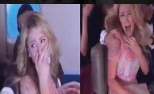 Paris Hilton dans une blague de mauvais goût.