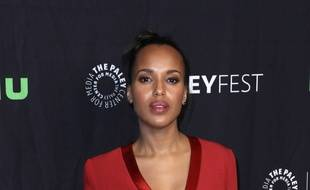 L'actrice Kerry Washington à Hollywood