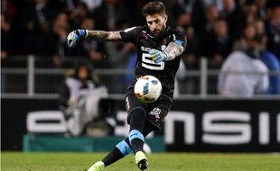 Benoît Costil contre Lorient, le 25 février 2017.