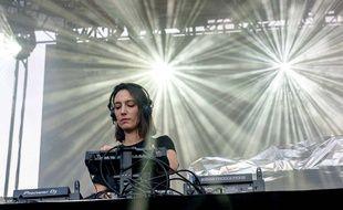 La DJ phénomène belge Amelie Lens à Détroit le 27 mai 2019.