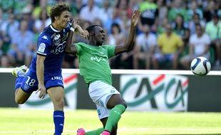 Jean-Christophe Bahebeck aurait été victime d'un malaise durant la rencontre face à Bastia dimanche.