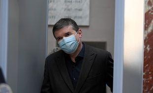 Alexandre Guérini à l'arrivée de son procès le 15 mars 2021