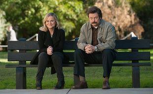Ron et Leslie dans Parks and Rec