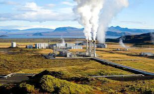 La centrale géothermique de Nesjavellir (Islande)