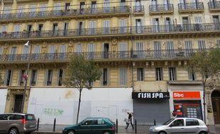 Marseille, le 13 octobre 2015, rue de la République.
