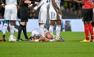 Maxime Gonalons a été victime d'un très mauvais geste de Diallo.