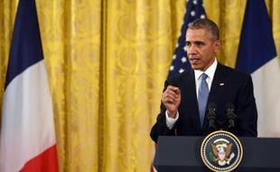 Le président américain Barack Obama, le 24 novembre 2015, à Washington DC