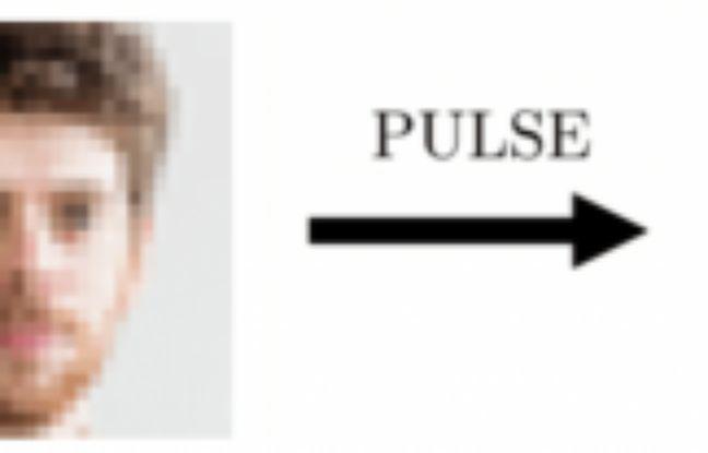 Une IA permet de dépixeliser une photo floue