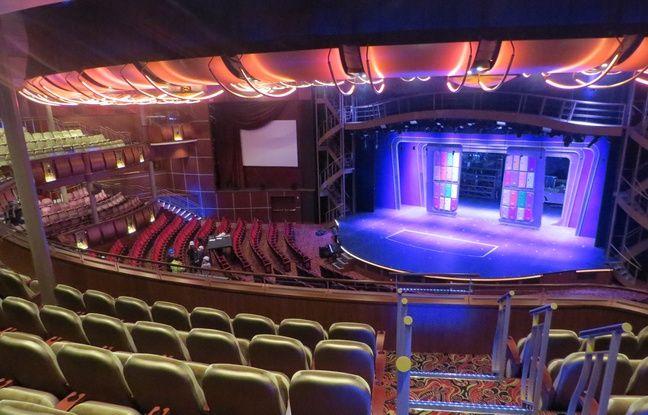 Le théâtre de l'Harmony of the seas