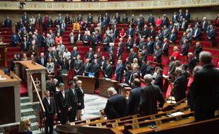Session de questions au gouvernement à l'Assemblée nationale le 15 mars 2016 Credit:CHAMUSSY/SIPA/