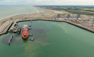 Le premier méthanier est arrivé à Dunkerque en juillet.
