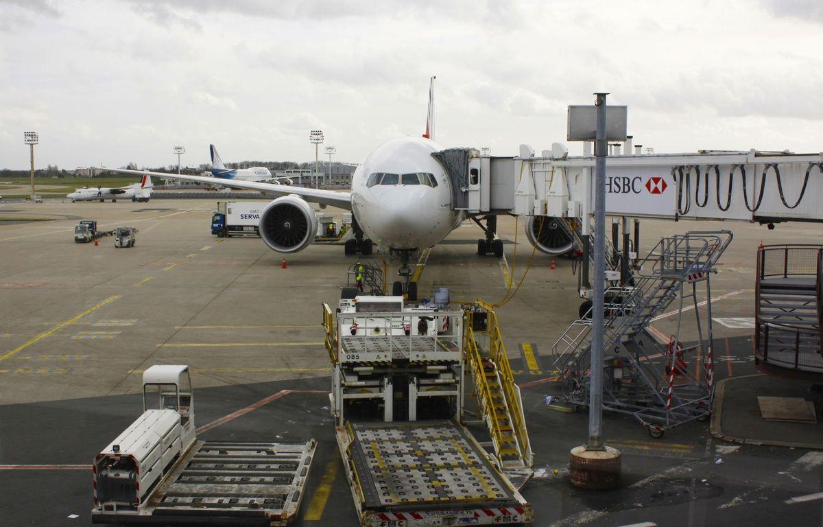 Un avion à Orly sur le tarmac, le 17 février 2015 –  XAVIER VILA/SIPA