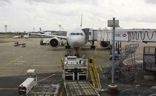 Un avion à Orly sur le tarmac, le 17 février 2015