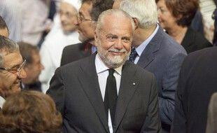 Aurelio De Laurentiis, le président du Napoli.