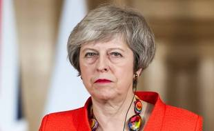 Theresa May, Premier ministre britannique, le 10 janvier 2019 à Londres.