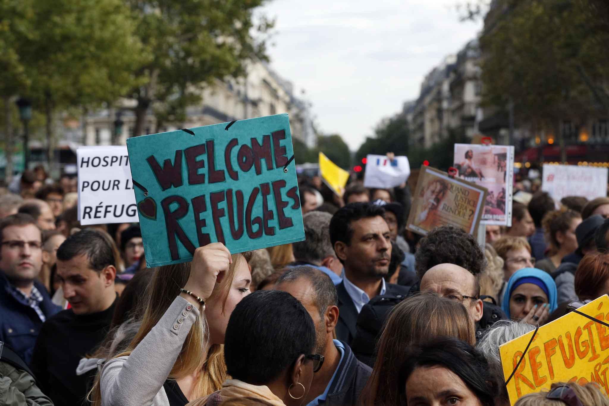 Mobilisation citoyenne pour l'accueil des réfugiés