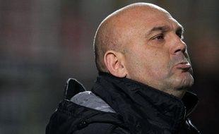 Frédéric Antonetti, l'entraîneur du Stade Rennais, le 11 décembre 2012, à Nice.