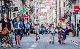 Une nouvelle expérience piétonne sera menée à Lyon les 26 et 27 septembre.
