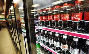 Des bouteilles de Coca Cola dans un magasin de Washington, le 15 février 2011.
