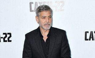 L'acteur américain George Clooney.