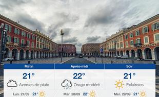 Météo Nice: Prévisions du dimanche 26 septembre 2021