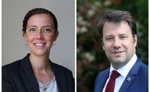 L'écologiste Claire Desmares-Poirrier et le socialiste Loïg Chesnais-Girard n'ont pas trouvé d'accord en vue du second tour des régionales en Bretagne.