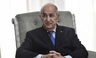 Abdelmadjid Tebboune, le 21 février 2020.