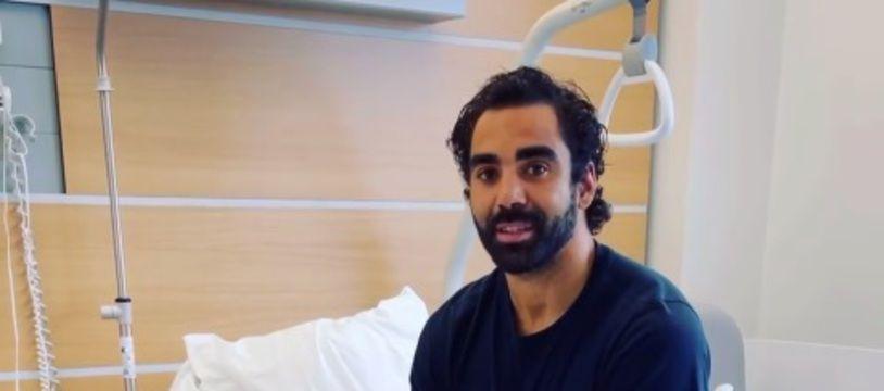 Après son opération du tendon d'Achille, Yoann Huget a adressé un message aux supporters du Stade Toulousain.