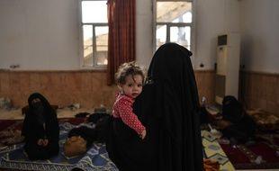 Les enfants concernés sont actuellement avec leurs mères dans un camp de réfugiés à Al-Hol, sous le contrôle des Kurdes en Syrie (illustration)