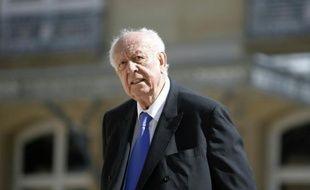 Le sénateur maire de Marseille Jean-Claude Gaudin le 7 avril 2015 à Paris.