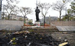 La statue du Maréchal Juin a été dégradée