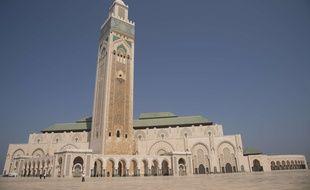 La mosquée Hassan II à Casablanca (Maroc).