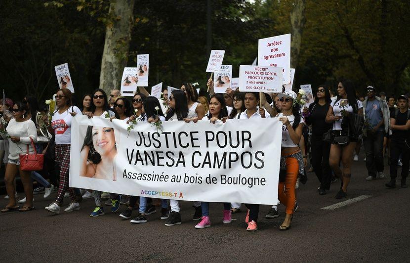 Paris: Rassemblement en hommage à Vanesa Campos, prostituée trans tuée il y a un an