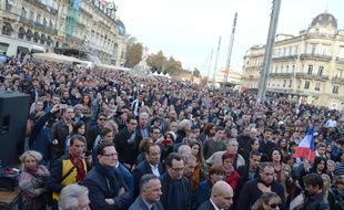 Rassemblement à Montpellier, ce samedi.